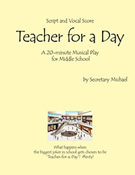 Teacher for a Day - Cover